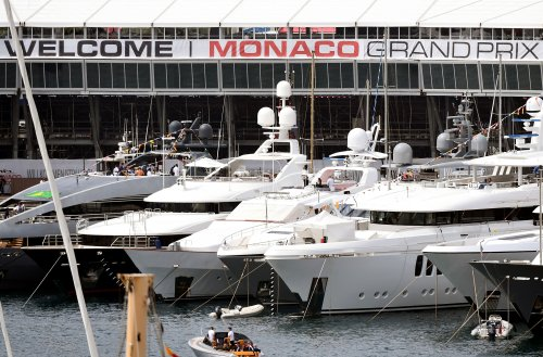 Feast Your Eyes On Faith, The $200 Million Superyacht That Was The Largest Boat At The Monaco Grand Prix - BroBible