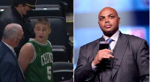 Charles Barkley Wants 'Punk Ass' Celtics Fan Who Allegedly Threw Water Bottle At Kyrie Irving To Be 'Taken Downstairs' So Kyrie Can Handle Him
