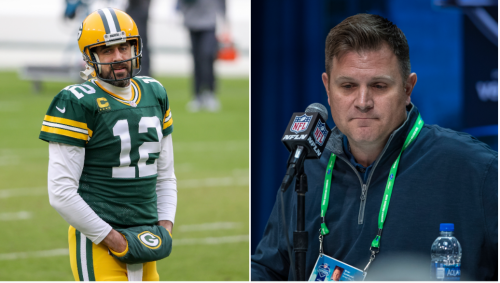Aaron Rodgers Reportedly Wants The Packers To Fire GM Brian Gutekunst Because He's Still Mad The Team Drafted Jordan Love