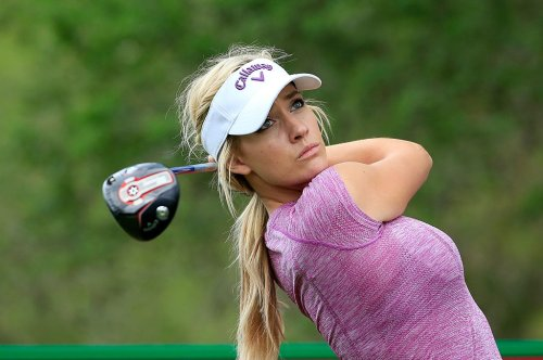 Paige Spiranac Delights Fans With Video Of Her Best Happy Gilmore Swing - BroBible