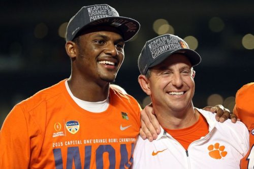 Dabo Swinney 'Disappointed' To Learn Of Deshaun Watson Allegations, Says He 'Loves Him Like A Son'
