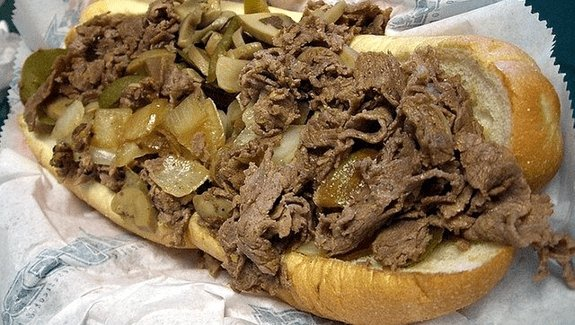 Dad Of The Year Uses 'Cheesesteak For Scale' To Document His Baby's Growth - BroBible