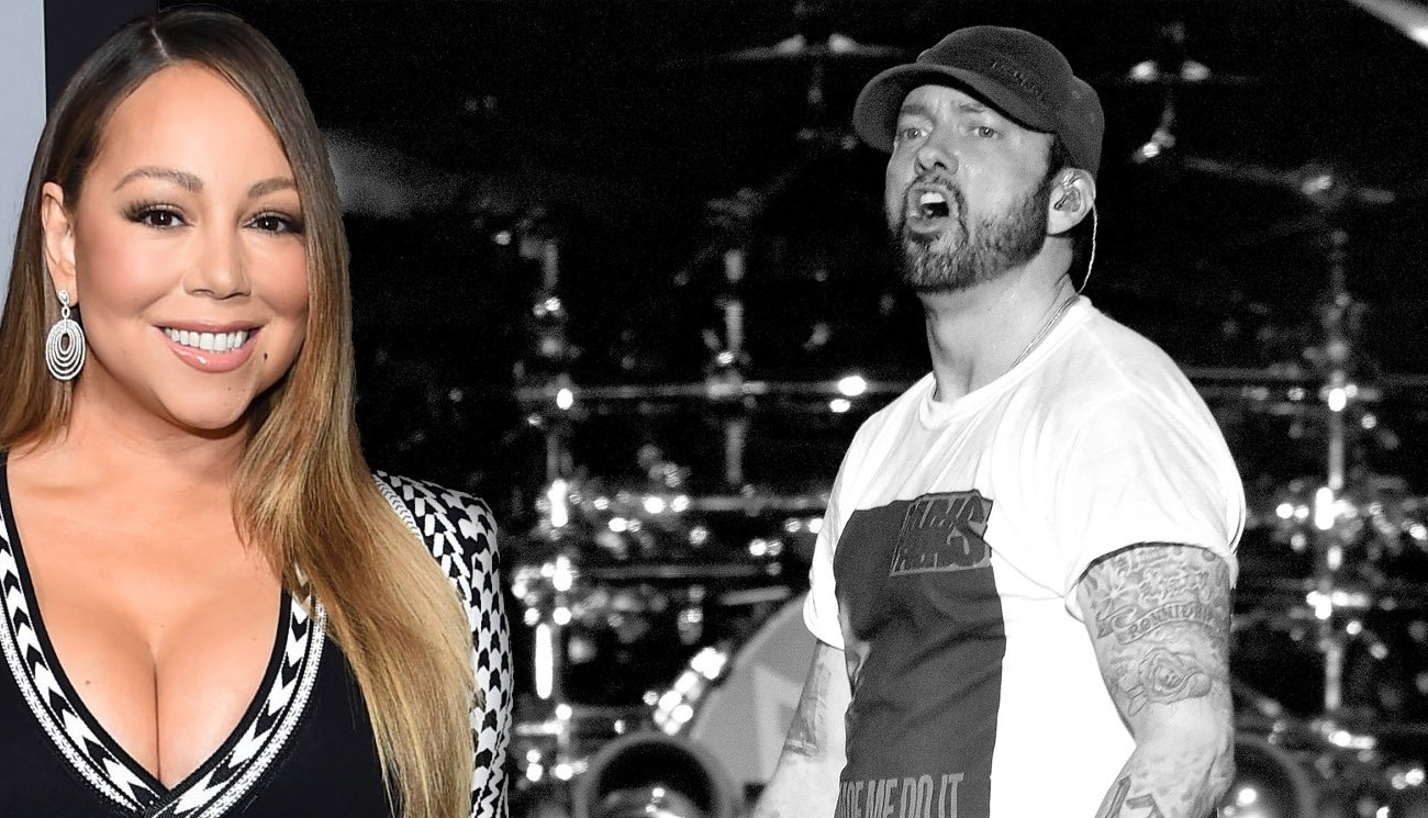 Eminem Is Reportedly 'Stressed Out' About Mariah Carey's Upcoming Autobiography - BroBible