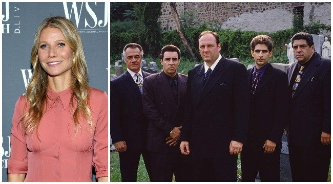 Gwyneth Paltrow's Impossibly Smug Quotes Paired With 'Sopranos' Screenshots Is Peak Internet - BroBible
