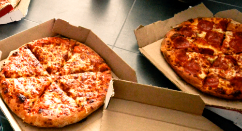 Pizza Box Folding 'Hack' To Keep Leftovers In The Fridge Has Now Been Viewed Over 20 Million Times