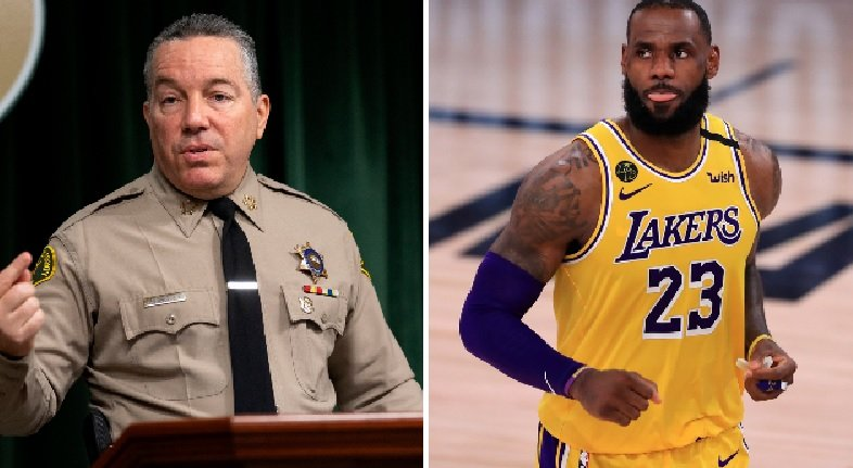 LA County Sheriff Publicly Challenges LeBron James To Match Reward Money To Catch Compton Police Shooter - BroBible