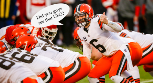 Baker Mayfield Talks About What Went Down During His And His Wife's UFO Sighting