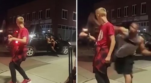 Wanted: Man Gets Out Of Car And Randomly Punches Dancing 12-Year-Old