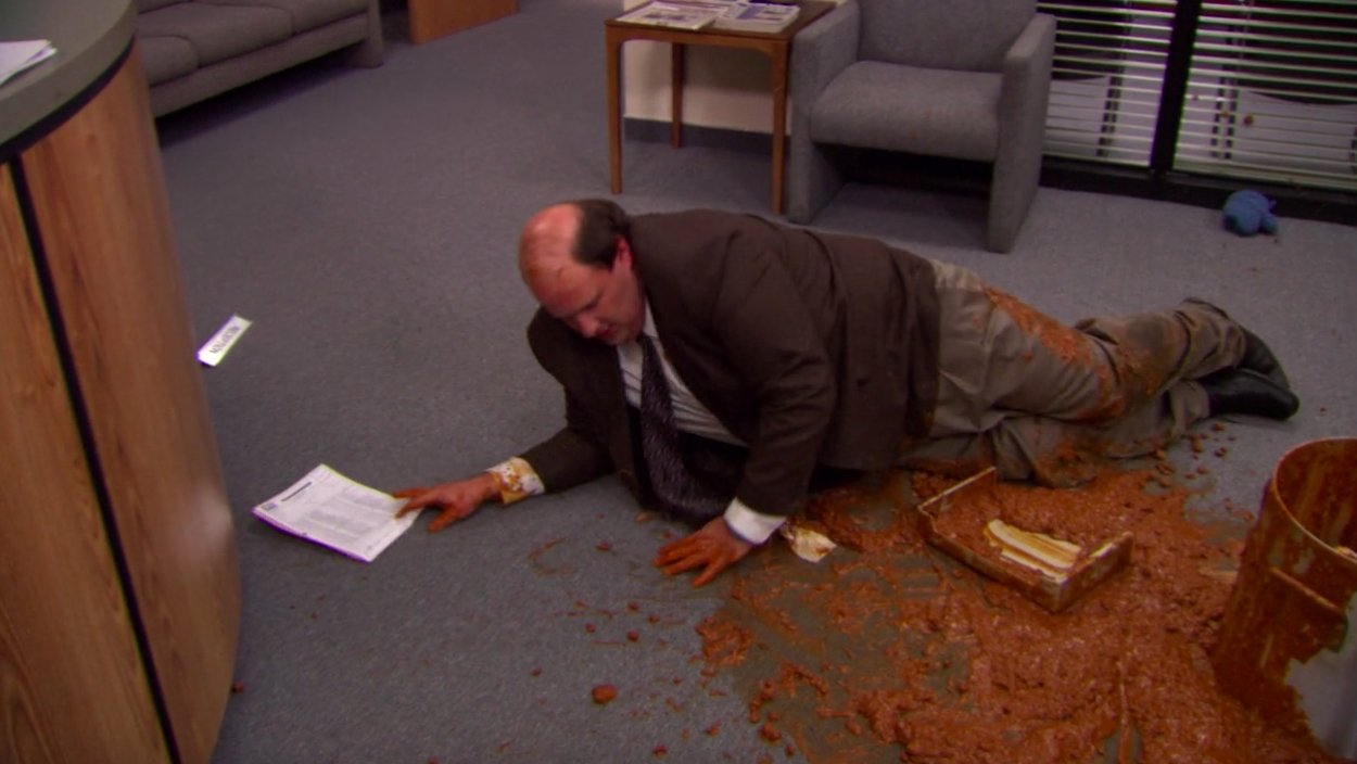 The Original Script For The Iconic Chili Scene In 'The Office' Was A Lot Darker - BroBible