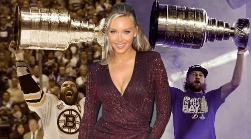 Camille Kostek's Boston Bruins Fandom Remains Strong Despite The Glow Of The Tampa Bay Lightning