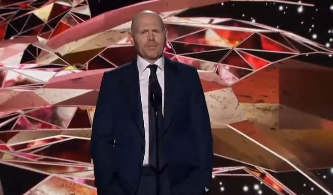 Bill Burr's wild comment at the Grammys has people wanting to cancel him again