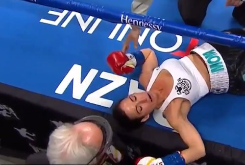 Watch Seniesa Estrada Score One Of The Fastest KOs In Women's Boxing History But Don't Blink Because You'll Miss The Entire Fight
