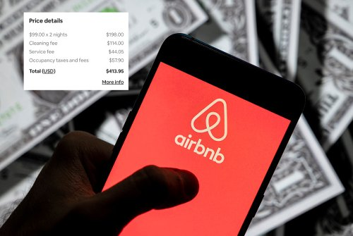 This Viral Receipt Proves Airbnb Cleaning Fees Are Too Damn High