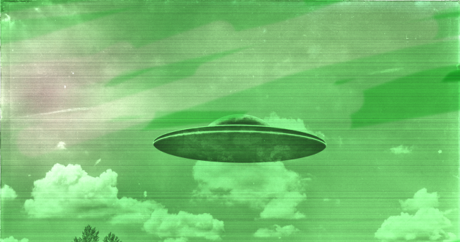 Two Planes, One Military, Report Seeing A 'Bright Green UFO' In The Clouds Over Canada