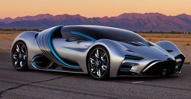 Hyperion Unveils The XP-1, The First American Made, Hydrogen Powered 220 MPH Electric Supercar