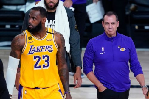 Intentional Or Not, Frank Vogel's Quote About LeBron James Not Showing Up To Lakers Games Is Creating Some Controversy