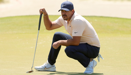 Brooks Koepka Hinted At A Weird Conspiracy Theory After Having His Injured Knee Aggravated By Fans At The PGA Championship