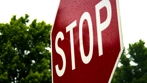 The Internet Can't Get Enough Of This Twitch Feed Of A Stop Sign Where No One Stops