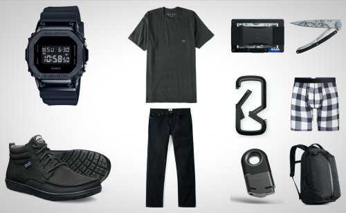 10 Of The Best 'Blacked Out' Everyday Carry Essentials For Guys