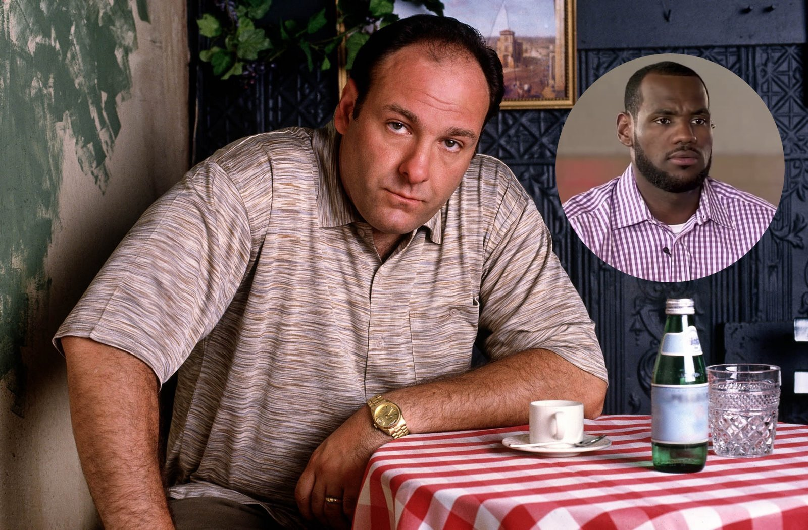 The Knicks Made A 'Sopranos' Short Film With James Gandolfini To Entice LeBron James Into Signing With The Team - BroBible