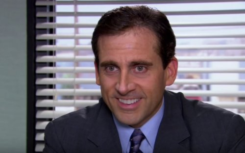 This fart joke from 'The Office' took an hour because Steve Carell kept laughing