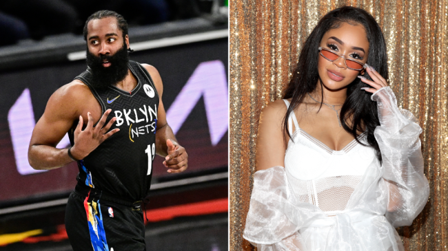 An Angry James Harden Denies Sending Rapper Saweetie $100k To Go Out On A Date With Him