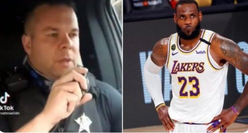 Over $530k Has Been Raised For Police Officer Who Mocked LeBron James In TiKTok Video And Got Fired - BroBible