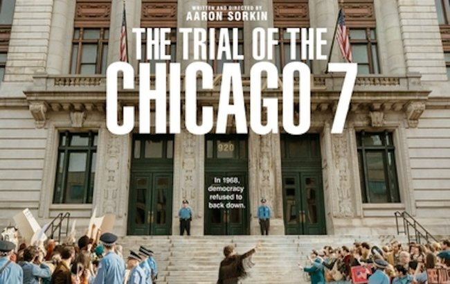 Netflix Drops First Trailer For Aaron Sorkins' 'The Trial of the Chicago 7'