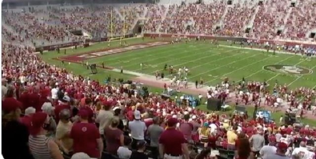 Photos: People Are Not Happy Florida State Fans Were Packed Together In Stadium Without Practicing Social Distancing