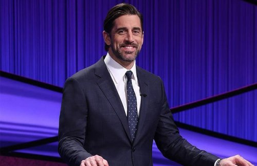 Aaron Rodgers Claims He Wants To Be The Permanent Host Of 'Jeopardy!'