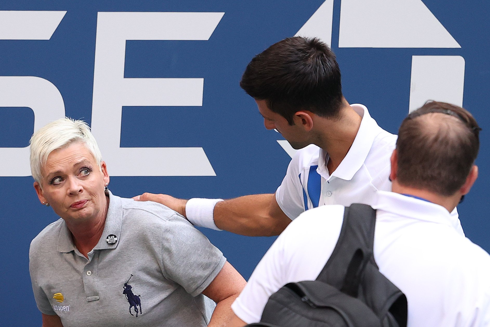 Novak Djokovic DQed From US Open After Hitting Line Judge In The Throat With Ball While Throwing A Fit During Match - BroBible