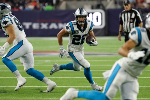 Panthers RB Christian McCaffrey Is Set To Miss 'A Few Weeks' With Hamstring Injury And Fantasy Football Owners Who Drafted Him Are Sick - BroBible