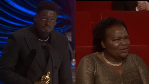 Daniel Kaluuya Shouts Out His Parents For Having Sex During Oscars Speech With His Mom In Attendance And It Was Hilariously Awkward