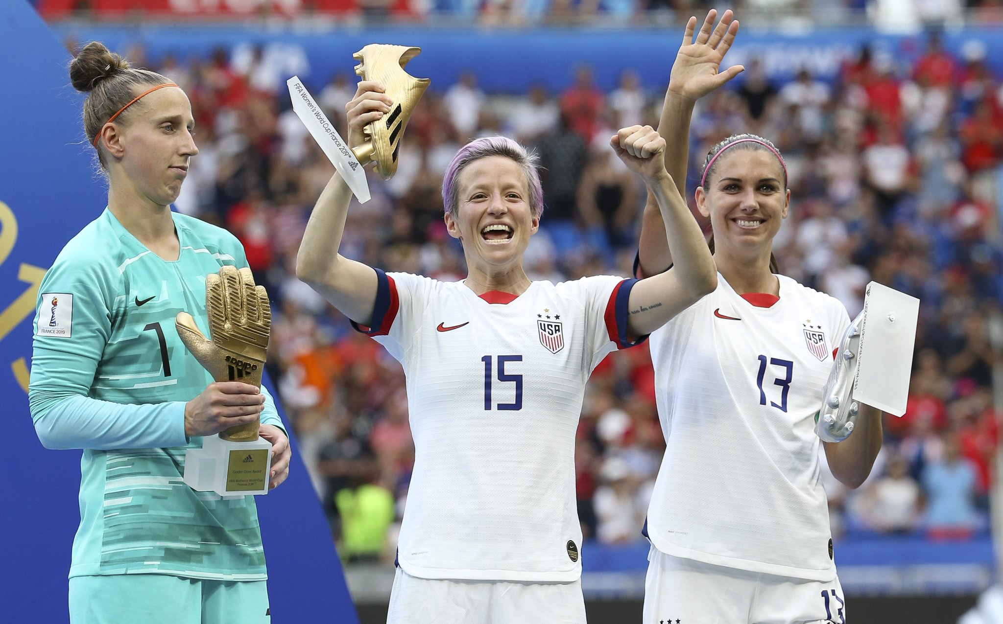 The Sad Story Behind Megan Rapinoe's Birthday Shoutout To Her Brother Following The U.S. World Cup Victory - BroBible