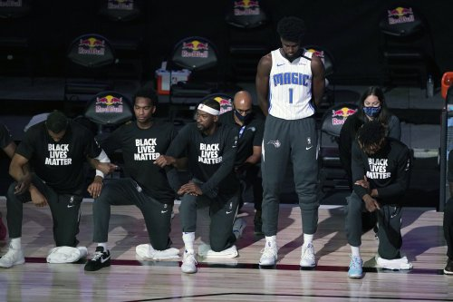Jonathan Isaac's Jersey Sales Have Skyrocketed After He Became First NBA Player To Stand For National Anthem In Season Restart
