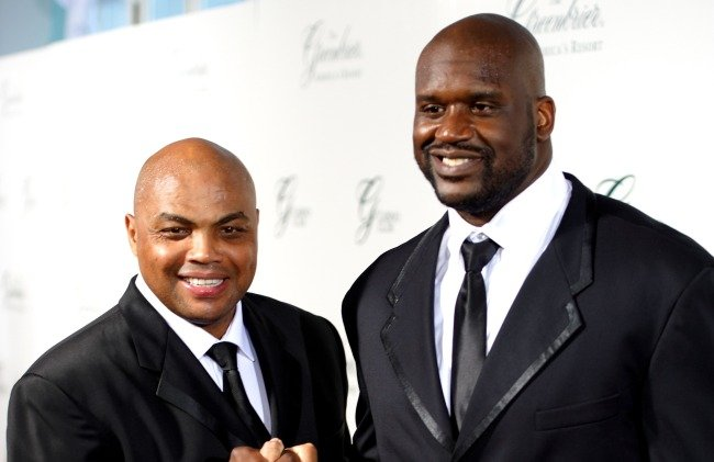 Shaq Says He And Barkley's Moms Set Them Straight After They Once Got Into A Brawl During A Game