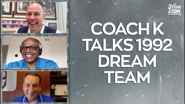 Charles Barkley Shares A+ Story About Coach K's Daughter And Some Beers While With The Dream Team