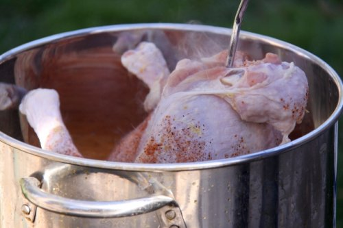 Firefighters Demonstrate Dangers Of Deep-Frying A Turkey By Creating A Massive Fireball