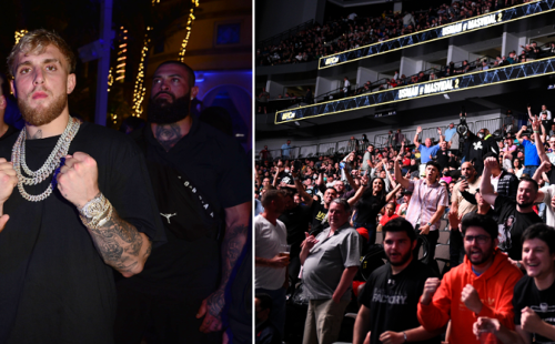 Jake Paul Makes Appearance At UFC 261 And Fans Loudly Chant 'F— Jake Paul' At Him