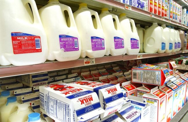 Those Inverted Circles On Milk Jugs Are Actually Very Important