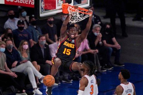 Clint Capela Torches Knicks, Guarantees A Hawks Win In Game 5
