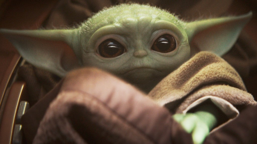 Hey You - Yes, You - Come Congratulate Baby Yoda On Winning An Emmy - BroBible