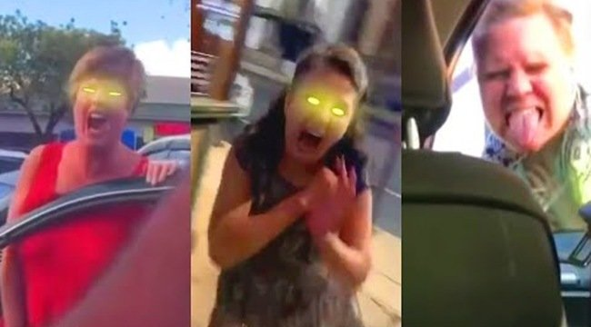 Someone added zombie effects to screaming 'Karens' and it's amazing