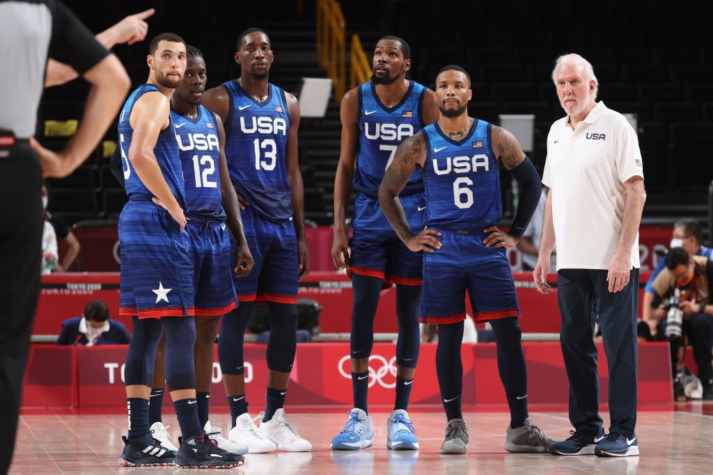 Team USA Players Are Reportedly Frustrated With Coach Gregg Popovich Running 'San Antonio Offense' After Loss To France - BroBible