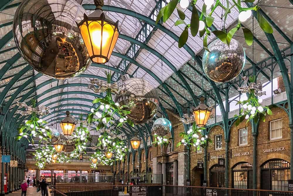Guide to Christmas Shopping and Christmas Lights in Westminster, London - Brogan Abroad