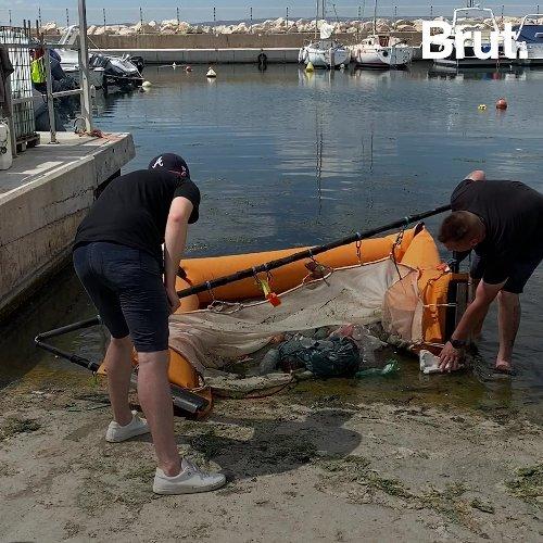 Avec Corail, ils transforment les déchets plastiques qui flottent en Méditerranée en baskets   Brut.