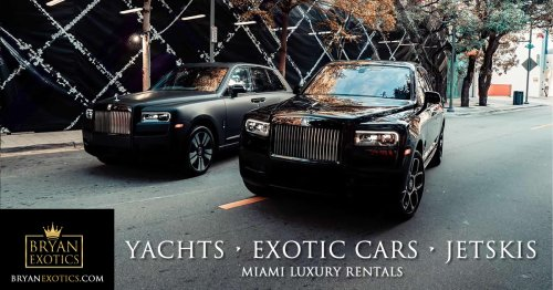 Yacht rentals Miami cover image