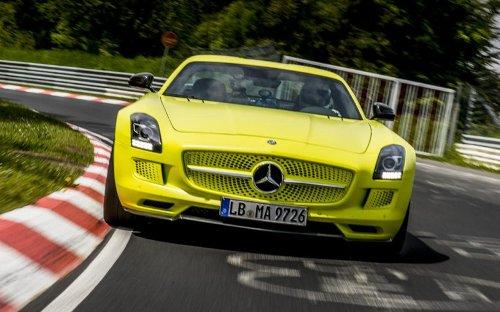 Mercedes-AMG SLS Electric Drive, un eléctrico muy adelantado a su tiempo