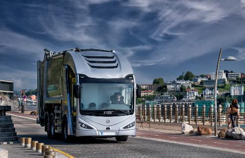 El camión eléctrico Irizar ie truck llegará pronto a Europa