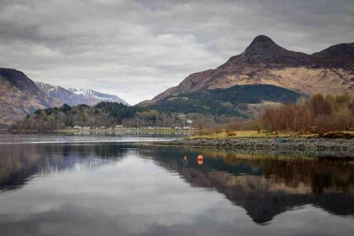 Loch Leven and Glen Coe in the Highlands of Scotland